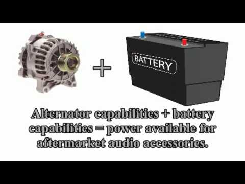 Car Audio 101 Battery Tutorial For Amplifier Upgrades You