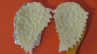 як зробити крила ангела з мастики