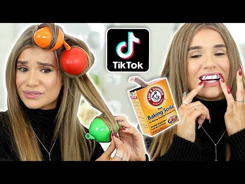 Testing Viral Tiktok Beauty Hacks They Worked Balloon Curls