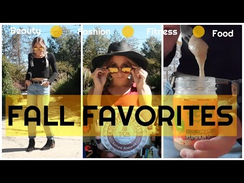 My Fall Favorites | Beauty, Fashion, Fitness & Food