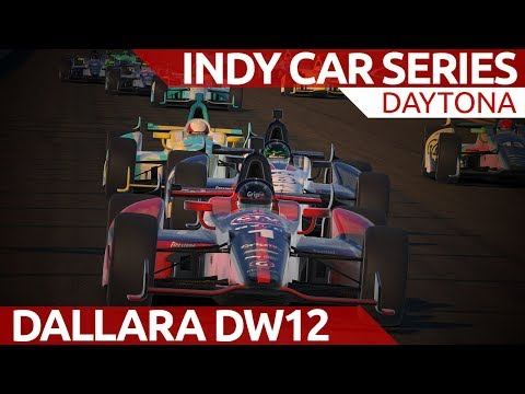 iRacing Indy car series at Daytona