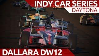 iRacing Indy car series at Daytona