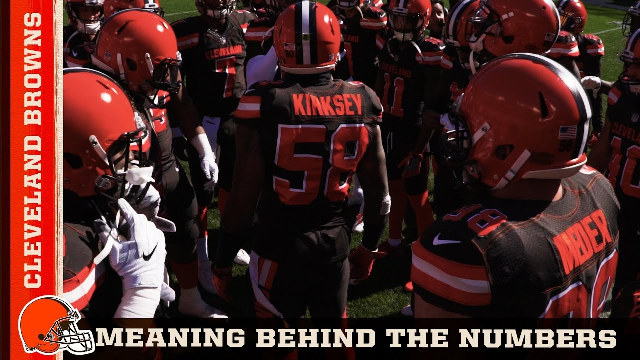 on sale 27f5b cca8a Jarvis Landry, Carlos Hyde & More Talk About the Meaning of Their Jersey  Number | Cleveland Browns