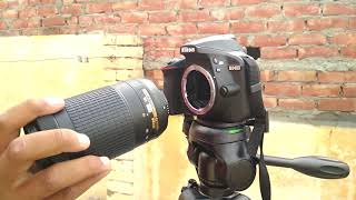 nikon D3400 Video Test with (18-55mm & 70-300mm Lens)
