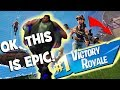 MOST EPIC FORTNITE VIDEO EVER! VICTORY ROYALE HD 4K! *DEFINITELY NOT CLICKBAIT*