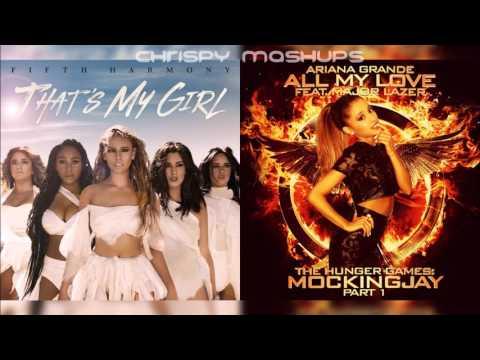 Fifth Harmony & Major Lazer - That's My Girl / All My Love [Ft. Ariana Grande] (Mashup)