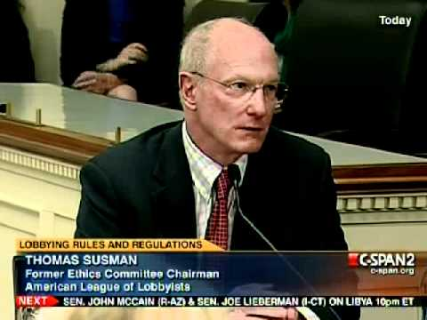 CSPAN2 - Advisory Committee on Transparency: Washington's Lobbying Fix - 3-14-11