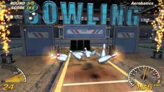 Repeat youtube video Flatout 2 Bowling 150 points (7\7 Strikes)