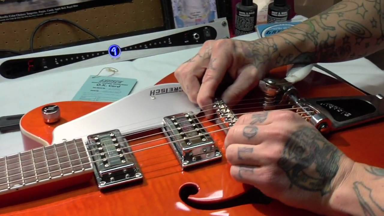 medium resolution of gretsch guitars tech tips optimizing your g5120 electromatic hollow body youtube