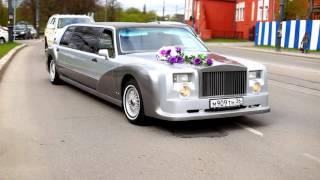 Крутая свадьба в Калининграде. Свадебный Кортеж из Rolls Royce Phantom и Cadillac Escalade