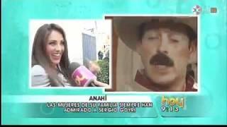 Anahi Le Da Asco Besar a Sergio Goiri
