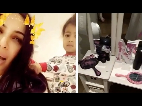North West DESTROYS Her Room While Kim Kardashian Steps Away