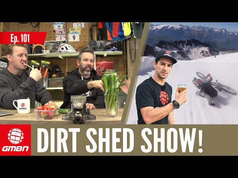 Can You Ride A Mountain Bike In Snow? Dirt Shed Show Ep. 101
