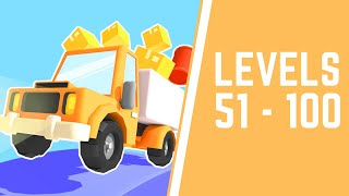 Drive Hills Game Walkthrough Level 51-100