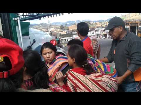 Bus Ride thru Guatemala