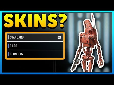 DROID SKINS We Need - Star Wars Battlefront 2 Skins thumbnail