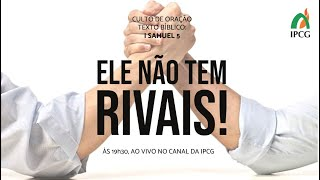 CULTO DE ORAÇÃO - 08/12/2020