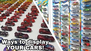 Ways To Display Your Diecast Car Collection!