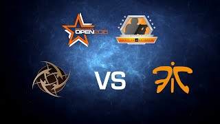 NiP vs. Fnatic - Dust 2 - Group B - FACEIT CS:GO League Season Finale at Dreamhack Open Winter