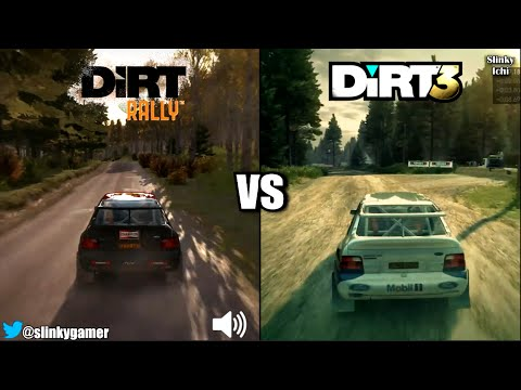 dirt rally vs dirt 3 graphics and sound comparison gameplay youtube. Black Bedroom Furniture Sets. Home Design Ideas