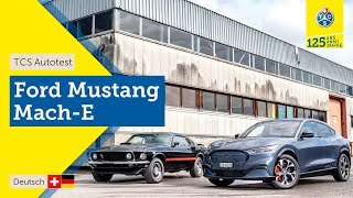 TCS Autotest - Ford Mustang Mach-E AWD - Kompletter Fahrbericht 2021