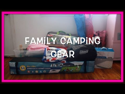 Packing Camping Gear!