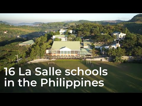 A look at the campuses of the 16 La Salle Schools in the Philippines