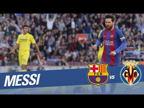 Revive el gol de Messi en 360º en el FC Barcelona vs Villarreal CF