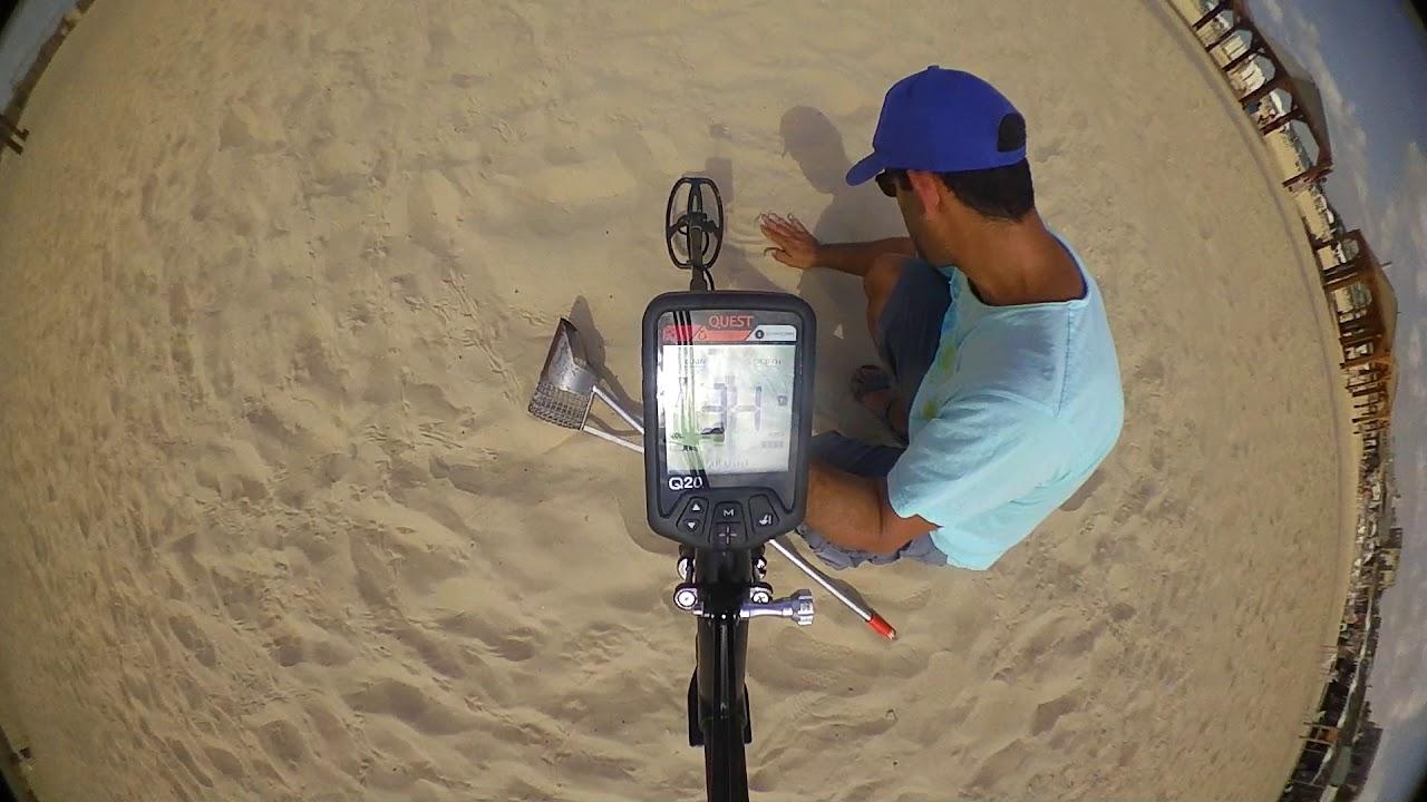 טוב מאוד גלאי מתכות לים - YouTube VT-01