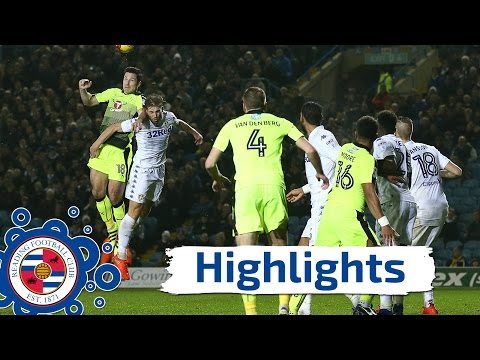 Leeds United 2-0 Reading - Tuesday 13th December 2016, Sky Bet Championship (2016/17 highlights)