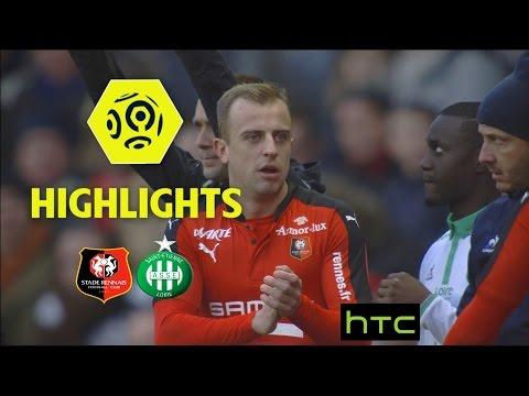 Stade Rennais FC - AS Saint-Etienne (2-0) - Highlights - (SRFC - ASSE) / 2016-17