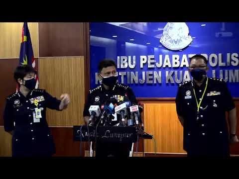 [LANGSUNG] Sidang media Ketua Polis Kuala Lumpur  Datuk Azmi Abu Kassim