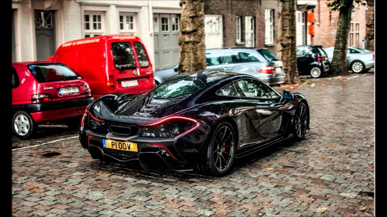Spotted Mclaren P1 with Jeremy Clarkson (TopGear) at Brugge, belgium