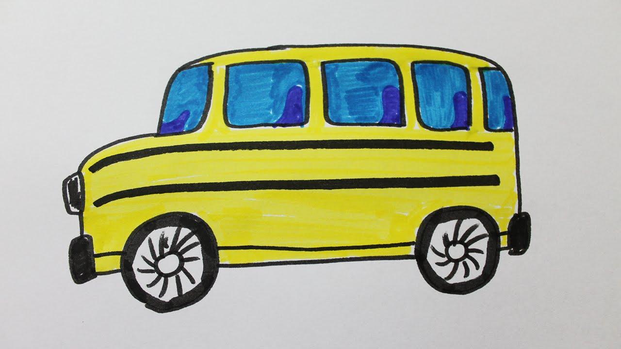 Comment Dessiner Un Bus