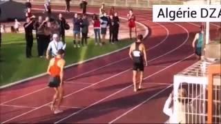 توفيق مخلوفي يفوز بسباق 800 متر لتجمع سان مور