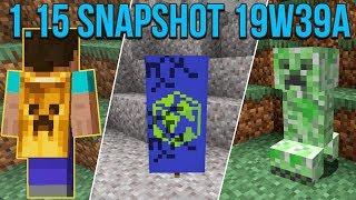 Minecraft 1.15 Snapshot 19w39a Blaze 3D Rendering & Free Cape For Bedrock!
