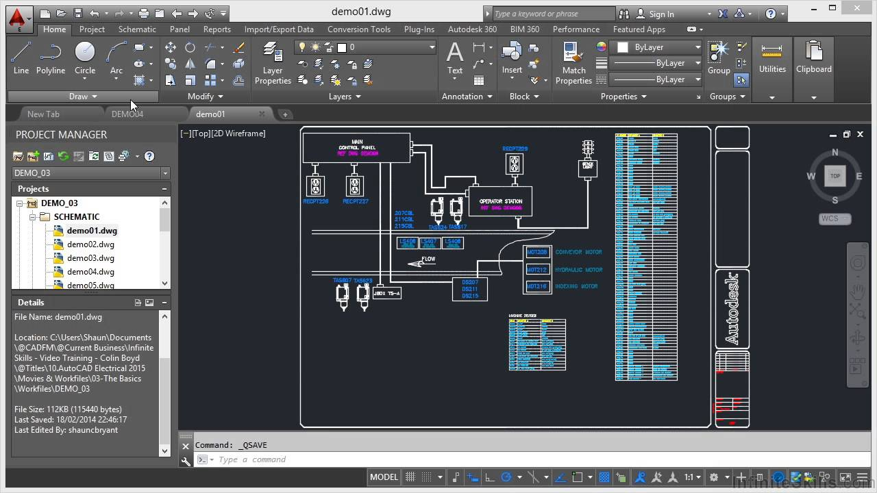 Autocad Electrical 2015 Tutorial Ribbon Interface Youtube
