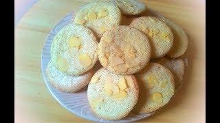 Миндальное печенье / Almond cookies