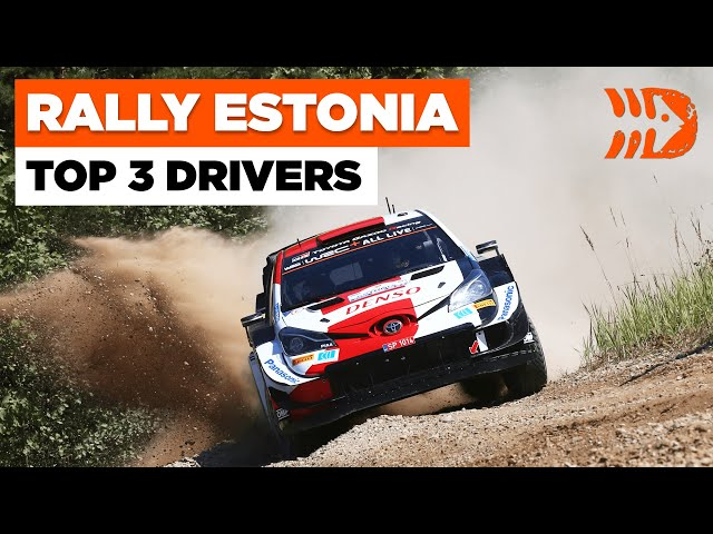 Rally Estonia 2021 - Top 3 Drivers | Day 3