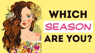 What Season Is Your Personality?