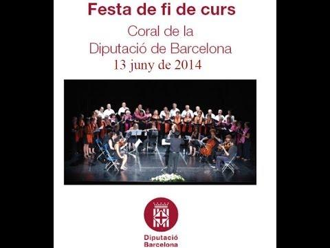 Fi de Curs 2014 Coral Diputació de Barcelona