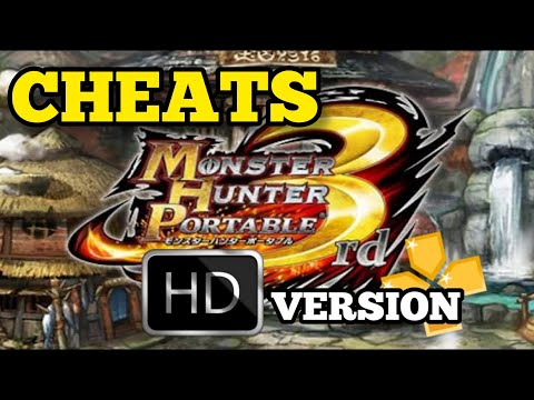 how-to-enable-cheat-on-monster-hunter-portable-3rd(npjb40001)-ppsspp