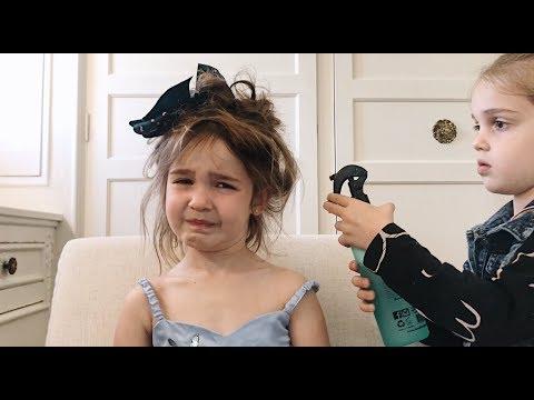 EMMA GAVE MILA A HAIR TRANSFORMATION