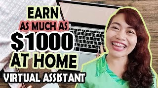 EARN AS MUCH AS $1000 / MONTH | VIRTUAL ASSISTANT + Q&A ft. Mimi Luarca