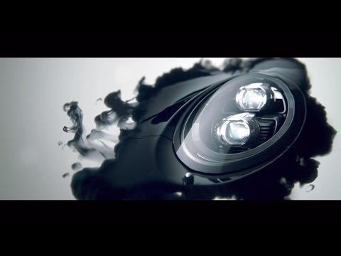 "Beautiful New ""Black Ink"" Ad for the Porsche 911 Carrera Black Edition"
