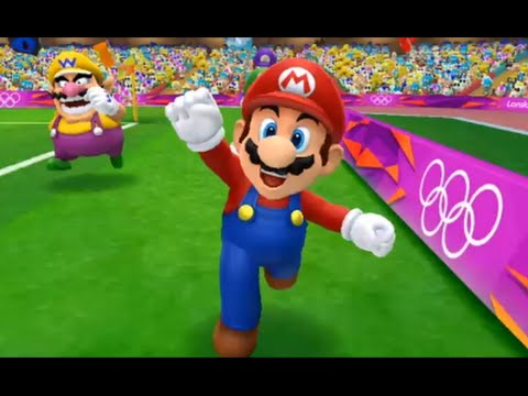 Mario and Sonic at the London 2012 Olympic Games (Wii) - Football (Hard)