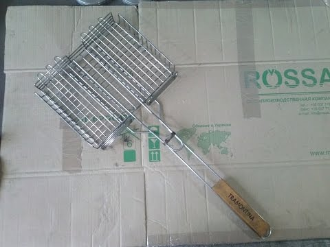 Идея для бизнеса в гараже (Как сделать решетку барбекю из нержавейки)