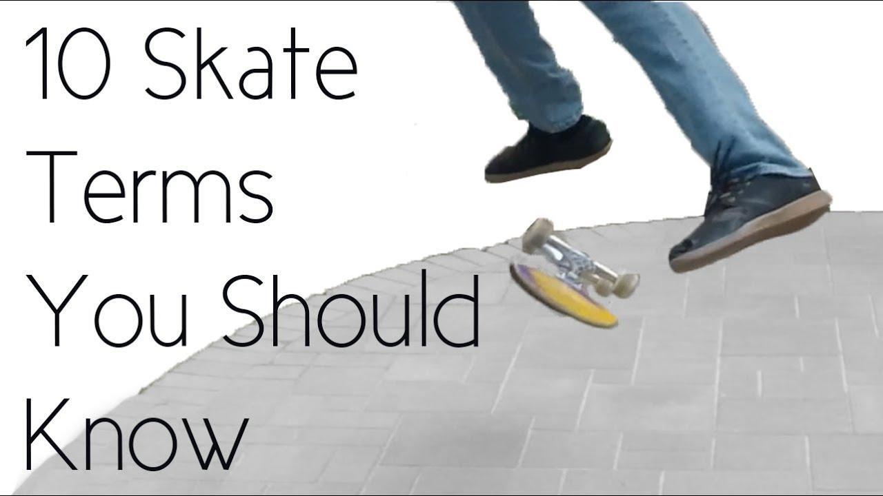 4e3648a505 10 Skateboarding Terms You Should Know - YouTube