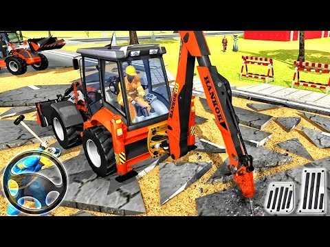 Excavator Construction Simulator 2019 - Android GamePlay