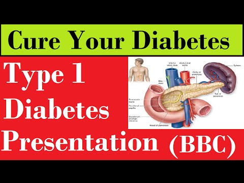 Type 1 Diabetes Presentation :- Role Of Pancreas (BBC)
